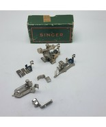 Lot of 6 Singer Sewing Machine Attachments w Box 120598 36865 35931 160359 - $54.95