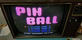 Pinball (Nintendo Entertainment System, 1985) Black label - Cleaned & Te... - $6.92