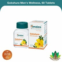 Gokshura Men's Wellness Himalaya Pure Herbs - 60 Tablets|Free Shipping W... - $9.37+