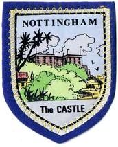 "England Patch Badge Nottingham The Castle Handpainted Felt Backing  2.5""... - $11.39"