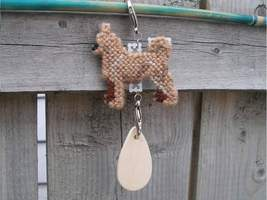 Chihuahua Smooth Coat dog crate tag or home decor, hang anywhere, hand s... - $14.00