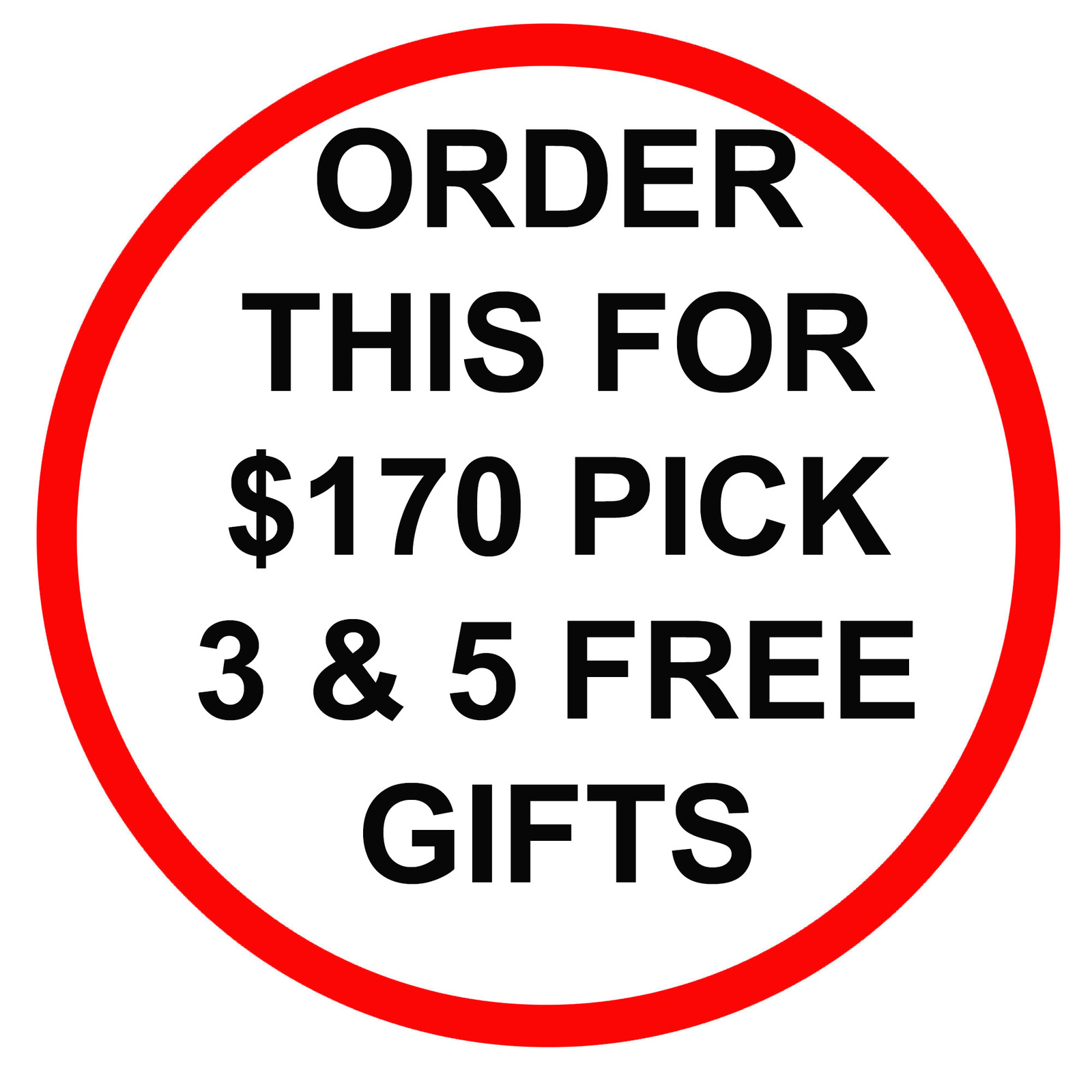Primary image for DISCOUNTS TO $170 SPECIAL PICK ANY 3 FOR $170 & RECEIVE 5 FREE GIFTS MAGICK