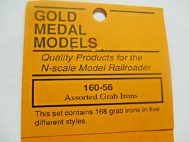 Gold Medal Models # 160-56 Assorted Grab Itons with Drilling Template N-Scale image 2