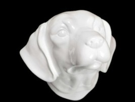 New Labrador Ceramic Dog Head mount - $29.99