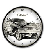"Collectable Sign and Clock TO711155 14"" Gasser Lighted Clock - $129.95"