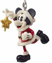 Vintage  Santa Mickey with Star Tree Topper   Disney Parks  1 of 3 Ornam... - $21.18