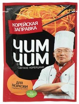 Seasoning for Korean carrots Chim Chim 60g Заправка для корейской морков... - $9.89