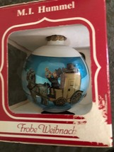 MI Hummel Christmas Ornament The Mail is Here 5th Annual  1987 Horse Wag... - $12.86
