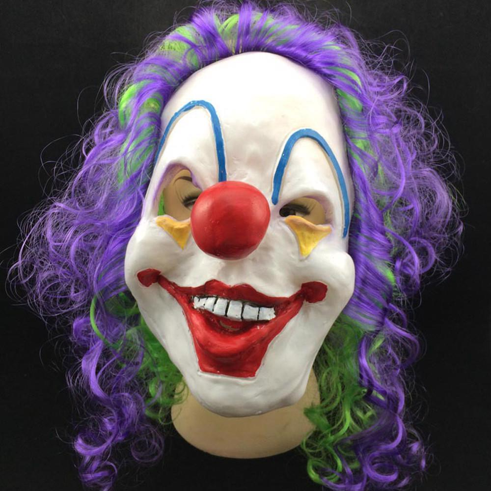 Adult Costume Masquerade Face Party Cosplay Carnival Fancy Mask Clown Big Teeth