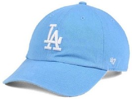 Los Angeles Dodgers MLB 47 Brand Powder Blue Women's Adjustable Hat - $18.76