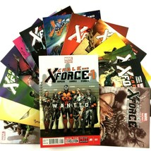 Cable and X-Force 14 Comic Book Lot Run 1-14 Marvel Colossus Domino Havo... - $34.60