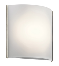 Kichler 10797NILED Signature Wall Sconces 8in Brushed Nickel Plastic 1-l... - $124.95