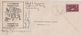 1947 FIRST DAY COVER SIGNED by PRESIDENT HARRY TRUMAN, BESS and MARGARET... - $742.50