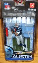 McFarlane NFL 2010 Dallas Cowboys Miles Austin Blue Jersey Series 23 - $18.37