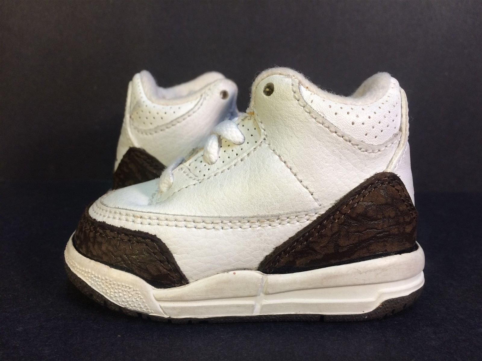 16aaa3b8e73e ... inexpensive air jordan retro iii 3 mocha 2001 832033 121 toddler 2c no  box restoration aa251