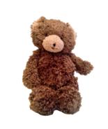 "Bunnies by the Bay Cubby Bear Plush Brown Teddy Stuffed Animal 14"" Hallm... - $44.95"