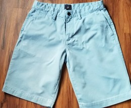 GAP BRAND, KHAKIS, LIVED IN SHORTS, MEN'S SIZE 31, LIGHT BLUE, 100% COTTON - $14.40