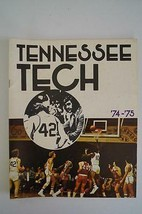 Vintage Basketball Media Press Guide Tennessee Tech University 1974 1975 - $13.85