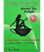 China Slim Tea Extra Strength Delight For Men and Women 72 Tea Bags - $12.71+
