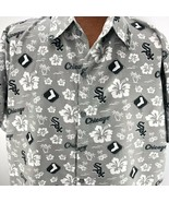 Chicago White Sox Hawaiian Shirt Sz XL MLB Baseball South Side Beggars P... - $22.27