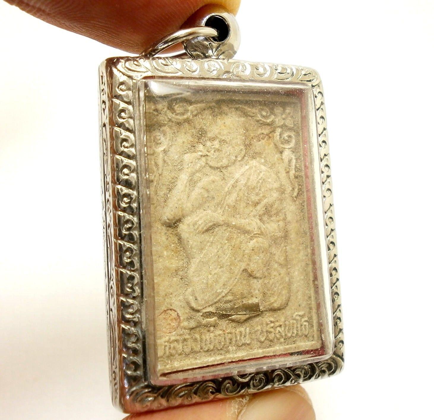 THAI BUDDHA AMULET LP KOON MAGIC TAKRUT MULTIPLY MONEY LUCKY RICH MONEY MULTIPLY