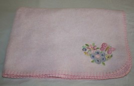 Circo Target BABY BLANKET Butterfly Flowers Corner Security Solid Pink F... - $383,00 MXN