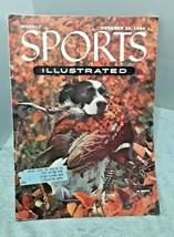 Sports Illustrated Magazine October 25 1954 Good Bird Dog vintage magazine - $12.86