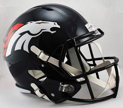 Denver Broncos Deluxe Replica Speed Helmet**Free Shipping** - $129.00