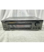 Sony STR-D615 5.1 Channel Stereo Receiver Amp Tested & Working EUC No Re... - $74.44