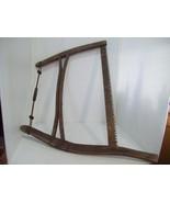 Vintage Antique Samson Bucksaw, Bow Saw, Primitive Farm House Wood Saw 2... - $59.35