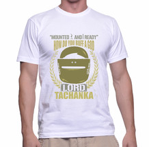 Lord Tchanka Gildan T-shirt Size S,M,L,XL,2XL White Color - $20.90