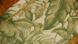 Charter Club 1 Standard Pillow Sham Tropical Leaves Beige Green - $24.97