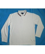 Tommy Hilfiger Sz XXL White Mens Polo Shirt - $12.99