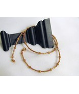 Copper Glass Bead Necklace, RKMixables Copper C... - $8.00