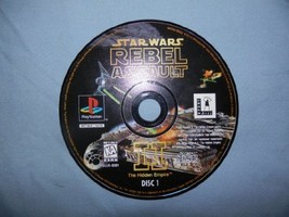 Star Wars Rebel Assault II: The Hidden Empire [PlayStation] - $6.10