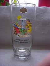 Wagner Qualitat German beer glass gold trim, or... - $10.80