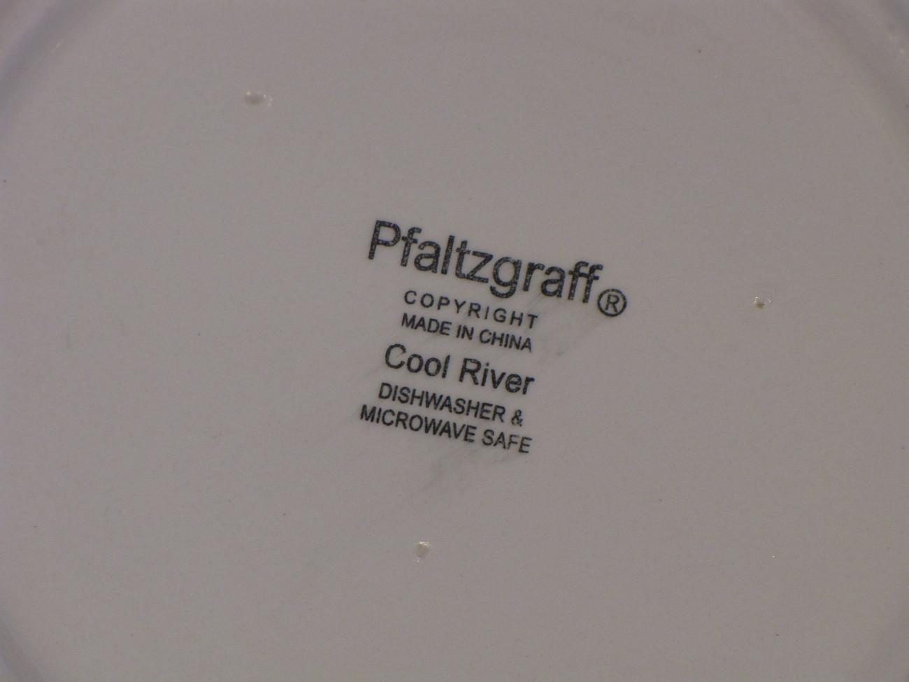 Pfaltzgraff Cool River Salad Plate