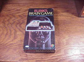 Rubik's Brain Game, No. 22830, made by Ideal, not complete, for parts - $11.95