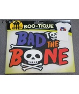 Bad to the Bone Skull and Crossbones Iron On Transfer T-shirt sheet in P... - $3.99
