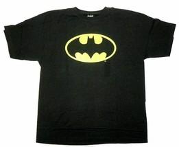 XL-18 Boy's Batman Shirt Black Bat Signal Tee T-Shirt Licensed DC Comics NEW