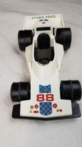 Vintage Fisher Price Race Car Racecar #308 Made in USA 1975 - $6.79