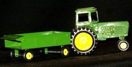 Ertl John Deere replica die-cast tractor with wagon AA19-1639 Vintage image 8