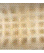 Brown Eggshell Vintage 18ct Mono Deluxe Canvas 10x10 needlepoint canvas ... - $4.50