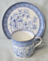 Spode Copeland Blue Tree Cup & Saucer 1851-85 - $37.51