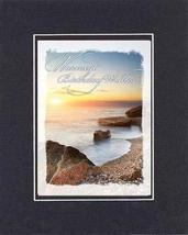 Warmest Birthday Wishes 8 x 10 Inches Biblical/Religious Verses set in Double Be - $11.14