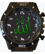 Allah Religion Islam New Gt Series Sports Unisex Gift Watch - £27.00 GBP