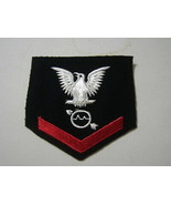 OPERATIONS SPECIALIST 3rd CLASS RATING BADGE WOOL PRE-1960 E4  KY20-2 - $8.00