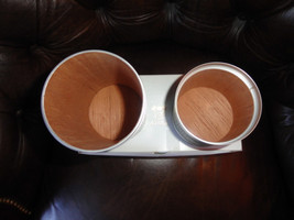 Details about  atoll desktop dark tan smooth  leather new in the original box d - $175.00