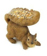 Woodland Squirrel Bird Feeder - $26.50
