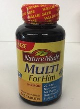 *New* Nature Made Multi For Him, Multivitamin - 90 Tablets - $13.99